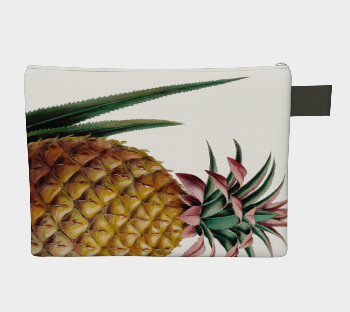 Vintage Botanical Pineapple Carry All