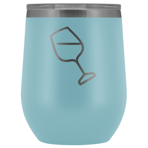 Wine Glass Icon Stemless