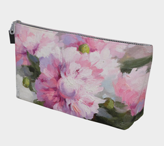Painted Peony Make-Up Bag