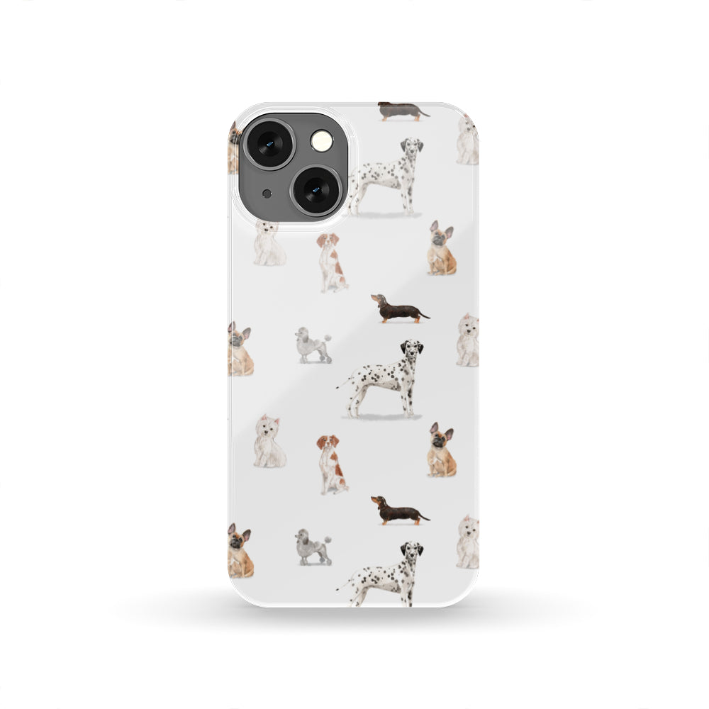 DOGS 1 PATTERN IPHONE HARD CASE