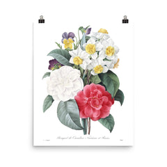 Vintage Botanical Mix Print