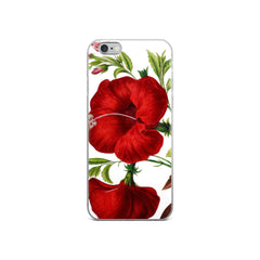 Vintage Botanical Hibiscua iPhone Case