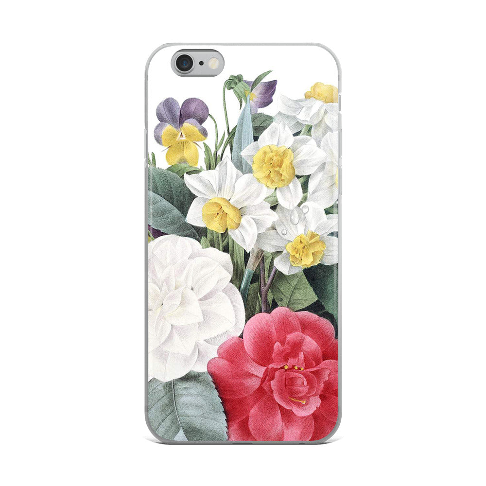 Vintage Botanical Mixed Floral iphone Case