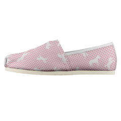 Lola Shoes in Pink Pony Plaid
