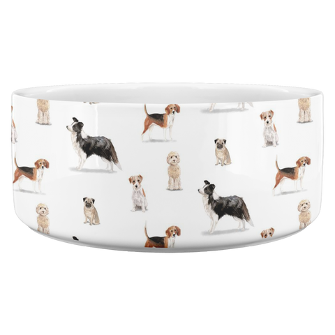 Man's best Friend 3 Dog Bowl