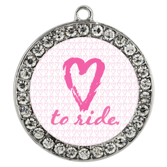 Lilly Love To Ride Charm Necklace