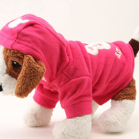Pet Dog Warmer Winter Sweater Hood