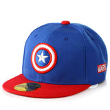 Captain America Avengers  Baseball Caps Cartoon Casual Hat Hip-Hop Hats And Snapback NY Caps