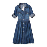 high quality dress summer autumn c women Jeans dress