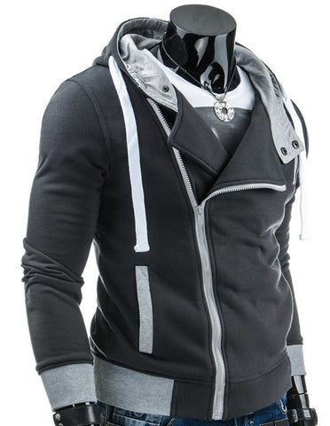 Casual Male Hooded Autumn Fashion Jacket