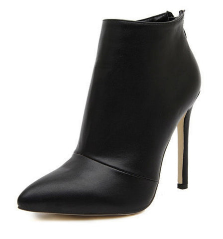 Women Leather/Suede Ankle Boots