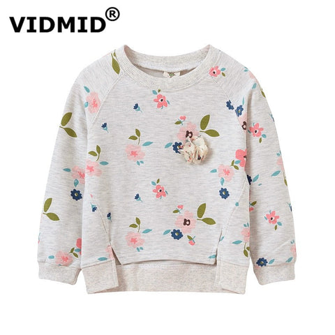 VIDMID  baby girl sweater children jacke kid