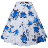 Womens High Waist Ball Gown Skirt