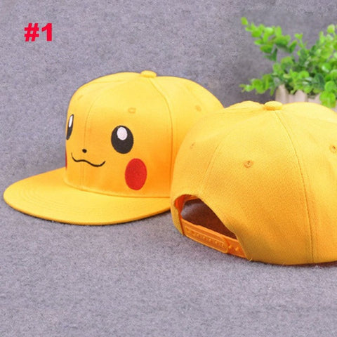 Hot Fashion lovely Unisex Women Men Pokemon Go Pikachu  Hat Baseball hat