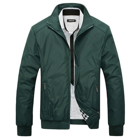 New Jacket Men Overcoat Casual bomber Jackets