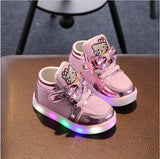 kids Sport Running Shoes  LED Sneakers