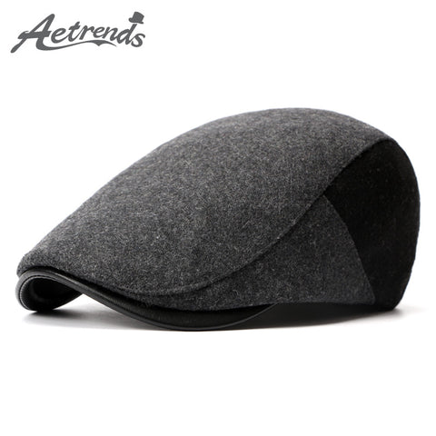 Spring Berets England Style Beret Hats for Men