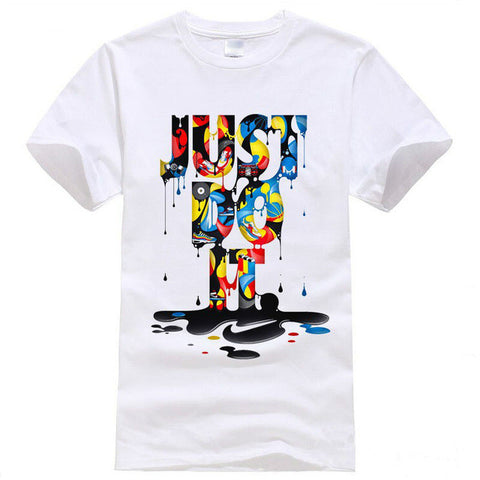 Men Summer Tees Hip Hop Anime Male Tshirt