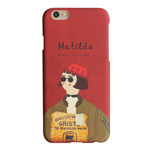 Matilda Movie Case For iPhone models