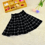 2017 New Girls Spring & Summer Solid kid girl Skirts