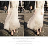 High Waist Tulle Skirt Women