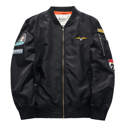 Men Bomber Jacket 2017 Air Force One H