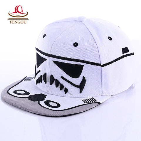 Fashion  Brand Star Wars Caps Hats For Men Women