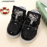 Children Shoes For Boys Girls Kids LED Glowing Sneakers