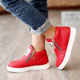Children Flats Zip Kids Casual shoes