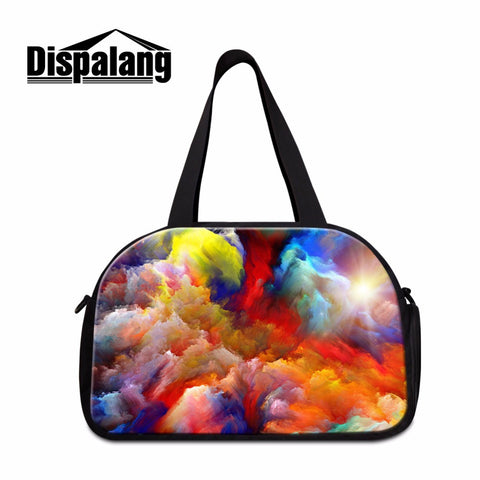 travel duffle tote bags watercolor