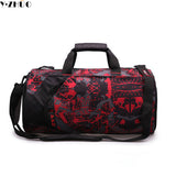 Brand men travel bag waterproof high quality duffel bag