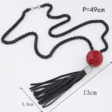 New Arrival Chain Long Beads Necklace Fashion Jewelry
