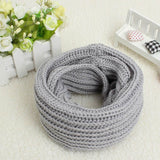 2017 Knitted Scarf Women And Men Knit Double Ring