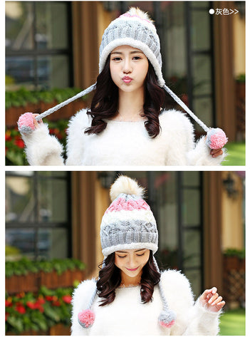Fashionable Knit Beanie Cap Hat