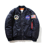 Nasa bomber Jacket men Pilot MA1 man Coat  jacket