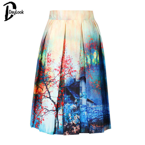 Summer Skirt Vintage Women Skirts