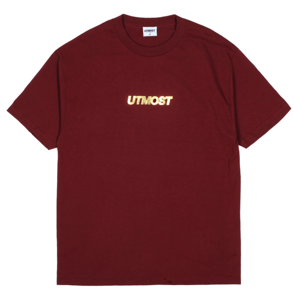 Gold Foil Solid Logo Tee