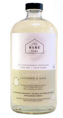 The Bare Home Laundry Detergent (Lavender & Sage)