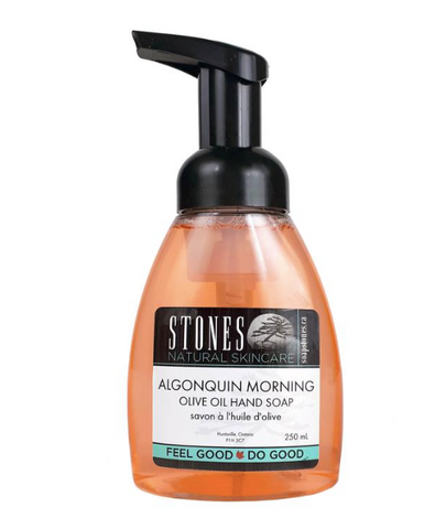Soapstones Foaming Olive Oil Hand Soap (Algonquin Morning)