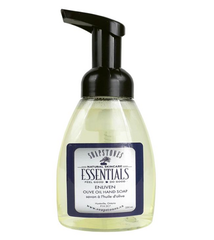 Soapstones Foaming Olive Oil Hand Soap (Enliven)
