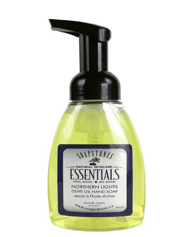 Soapstones Foaming Olive Oil Hand Soap (Northern Lights)