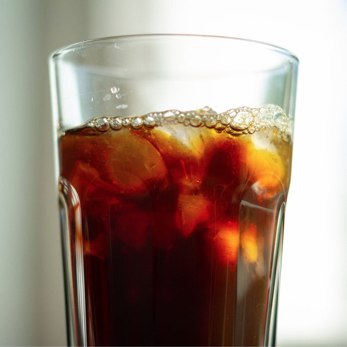 Iced Turmeric Long Black/ Americano