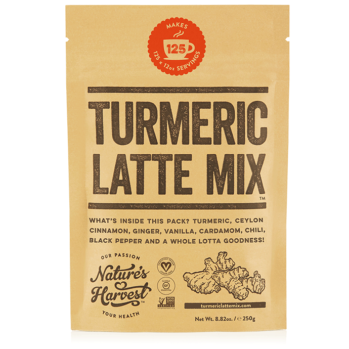 Turmeric Latte Mix 8.82oz / 250g Refill Pack