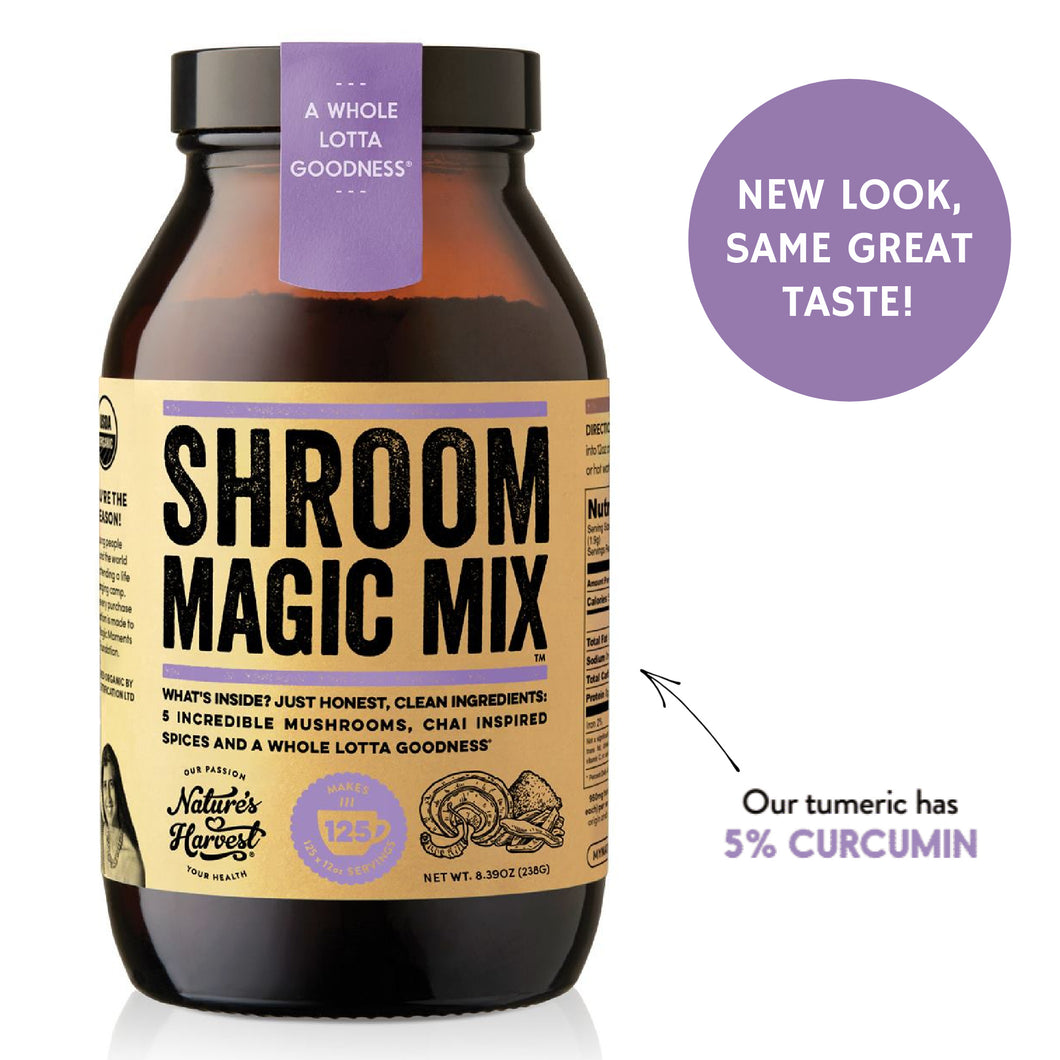 SHROOM MAGIC 125 Serves 8.40oz Glass Jar