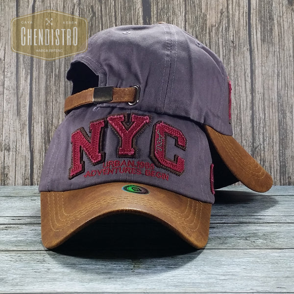 Topi Baseball Import NYC Wood Series
