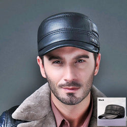 Genuine Leather Premium Cap High Quality Cowskin Material