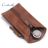 Vintage Genuine Leather Key Wallet