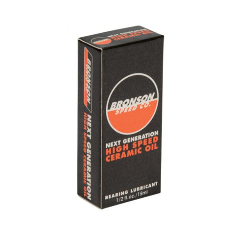 Bronson Next Generation Ceramic Bearing Oil - 50-50 Skate Shop