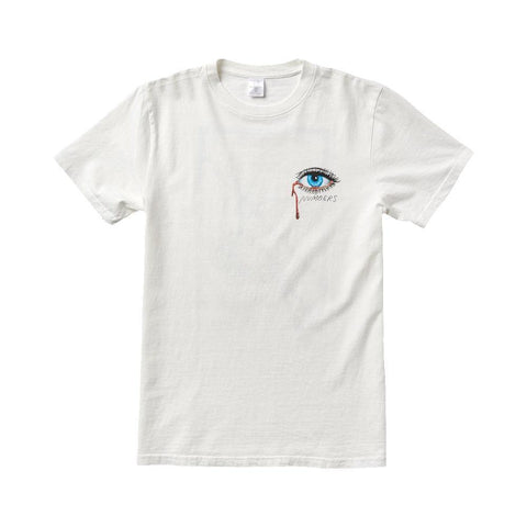 Numbers Edition Othelo Logotype Short Sleeve Tee Off White - 50-50 Skate Shop