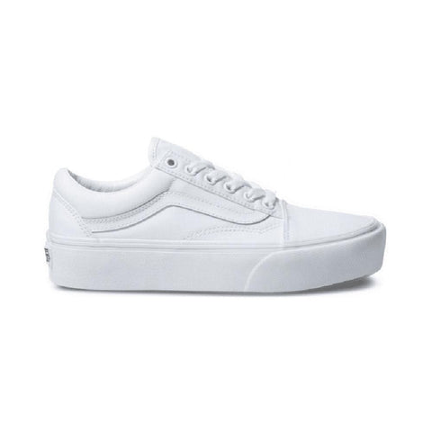 Vans Old Skool Platform True White-50-50 Skate Shop